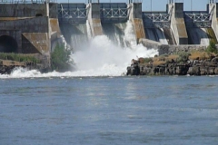 Lots of Water at Lower Salmon Dam